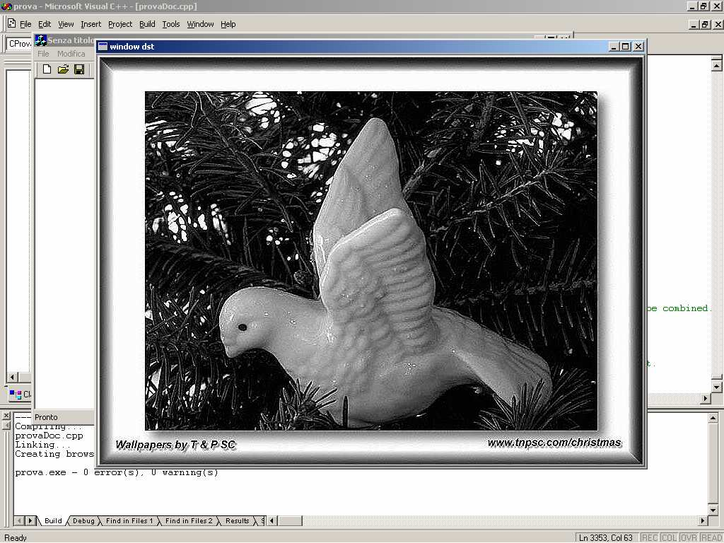 Custom Enhancement basato sul Laplaciano iplfixedfilter int iplfixedfilter(iplimage* srcimage, IplImage* dstimage, IplFilter filter); srcimage The source image. dstimage The resultant image.
