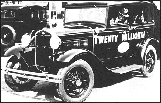 Industrial success After two unsuccessful attempts to establish a company to manufacture automobiles, the Ford Motor Company was incorporated in 1903 with Henry Ford as vice-president and chief