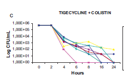 ctivity of tigecycline alone and in combination with colistin and meropenem against Klebsiella pneumoniae carbapenemase