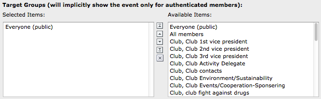 Publicly Promote in Hierarchy This checkbox is used to publicly promote your event in the hierarchy (club, zone, region, district, multi-district).