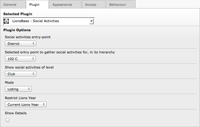 CAPITOLO 20 Customizing the Club s Website 20.1 Configuring the Social Activities Plugin This chapter describes advanced options of the Social Activities plugin.