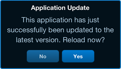 5.1.1 Updating the Application The development team of LionsBase is regularly enhancing the application and rolling it out.