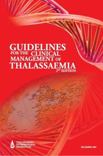 Triennial planning document 2012-2014 for thalassaemia and