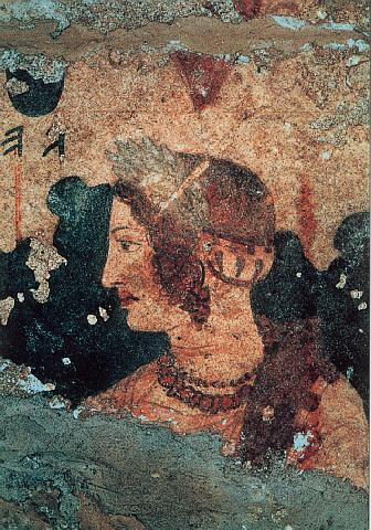 Fig. 12 La fanciulla Velcha; tratto da www.mysteriousetruscans.com.