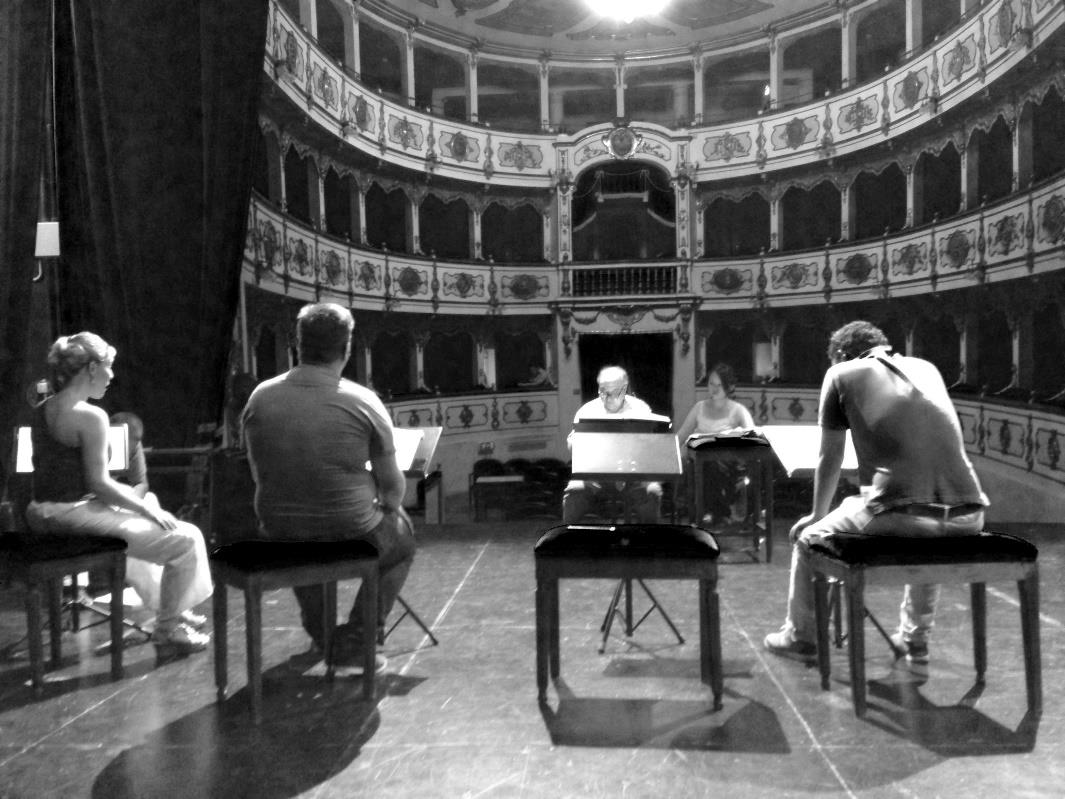 As far as the artistic training, from October 2012 the Foundation promotes, organizes and manages the activities of Scuola dell Opera Italiana.