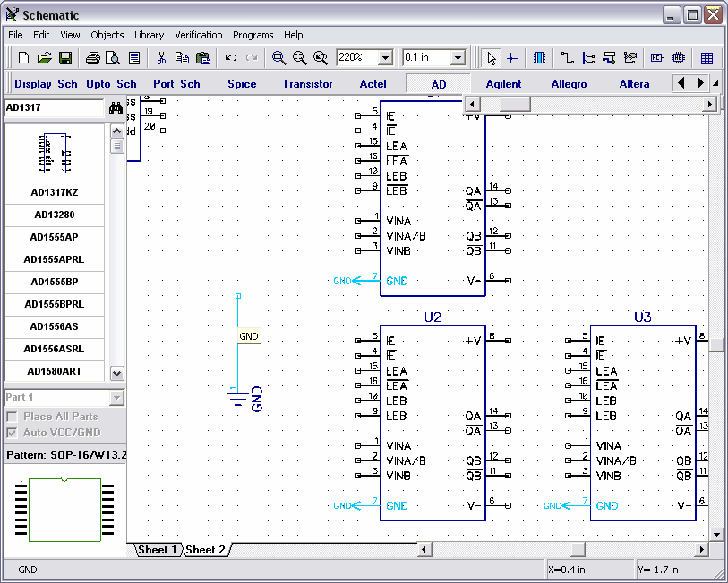 4.1.4 Connection Manager in Schematic and PCB Layout Uno dei modi per creare connessioni nello schema elettrico e in PCB layout è il connection Manager.