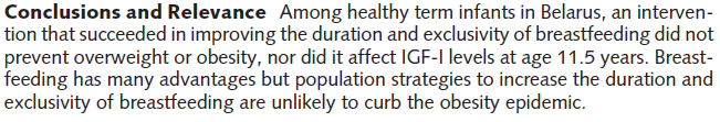 Breastfeeding A Public Health Issue, Not Just a Matter of Choice To cite this article: