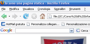 Server Web, Browser, pagine statiche, pagine dinamiche <html>