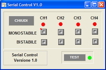 Software PC e l applicazione Android Prima cosa dovete installare il software Serial Control V1.0 scaricabile qui.