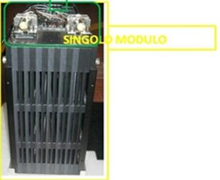 grid connected energy storage prototype: - lithium battery pack of 16 kwh (6 modules), - DC/DC converter of 20 kw - IGBT