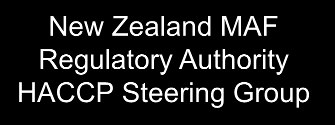 Hazard identification for cattle New Zealand MAF Regulatory Authority HACCP Steering Group Carcassa /testa /visceri B1 Pericoli microbiologici associati con anomalie rilevabili macroscopicamente: es.