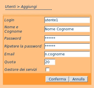 Capitolo 4. Scenario MailServer and how to unsubscribe or change your options. There is also a button on your options page that will email your current password to you.