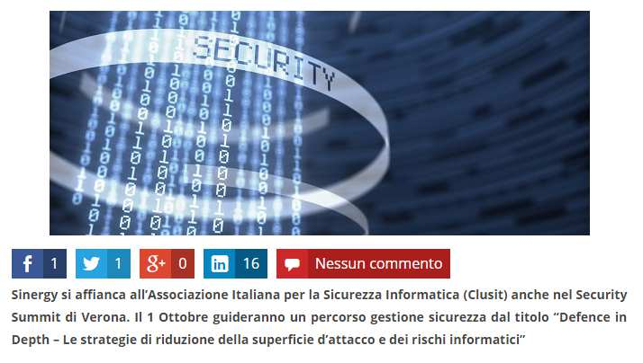 ChannelBiz Synergy spiega la superficie di