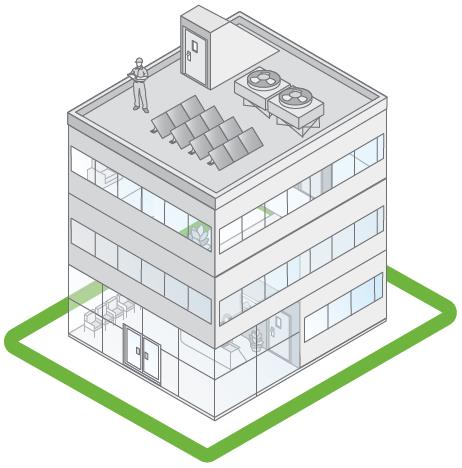 Piattaforma SmartStruxure Lite Supervision HVAC management Lighting management Energy management Soluzioni wireless per