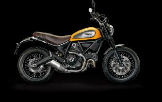 NEW BRANDING CREATION Lo Scrambler è l interpretazione contemporanea dell iconico modello Ducati, come se non avessero mai