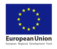 by the European Regional Development Fund