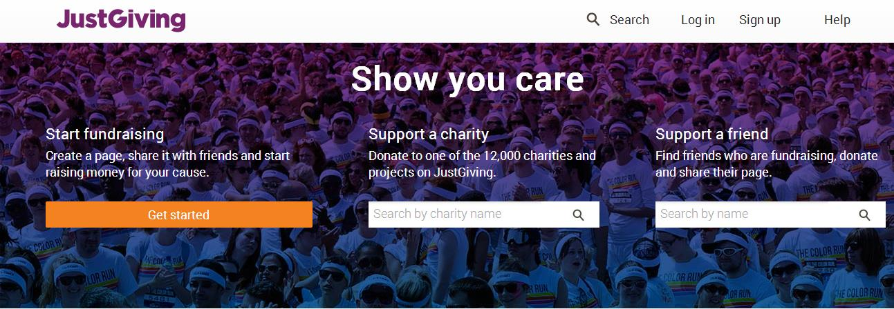 Justgiving: 1,5 billion raised