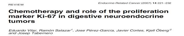 Neuroendocrine tumors (NETs) of the digestive tract are a heterogeneous group of rare