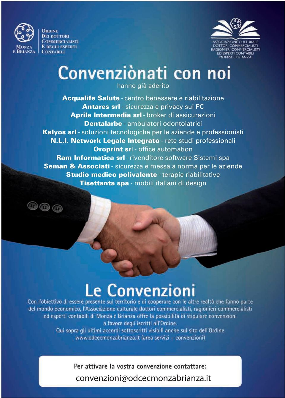 Network Legale Integrato - rete studi professionali Oroprint srl - office automation Ram Informatica srl - rivenditore software Sistemi spa Seman &