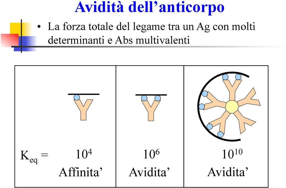determinanti e Abs multivalenti K eq