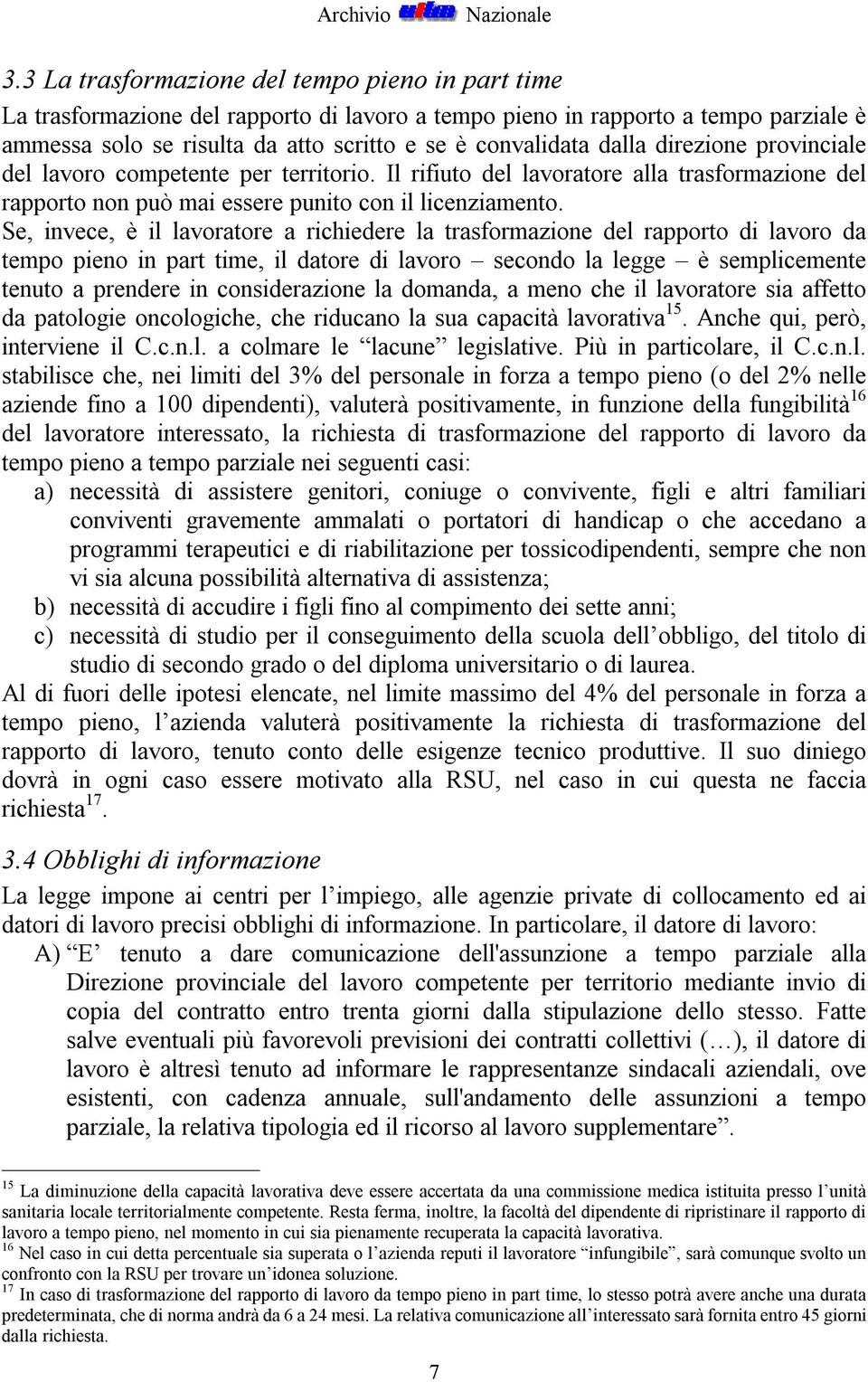 3 manuale del sindacalista uilm sul part time in