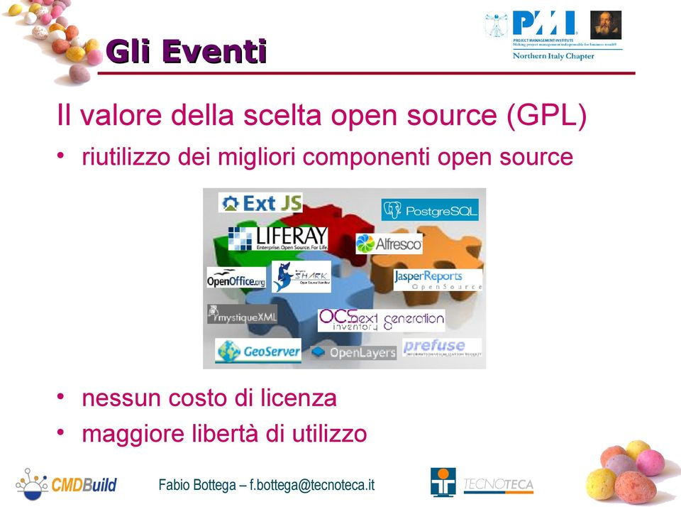 componenti open source nessun