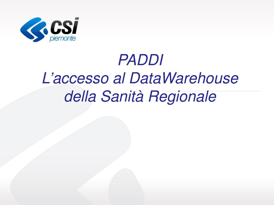 DataWarehouse