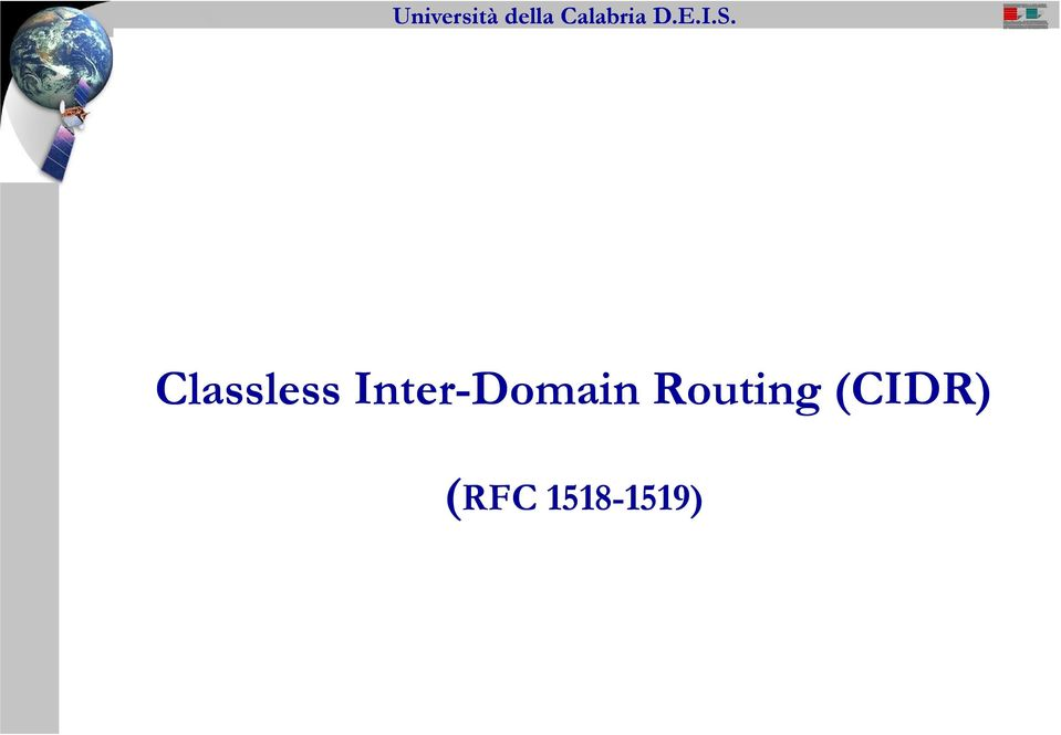 Routing (CIDR)