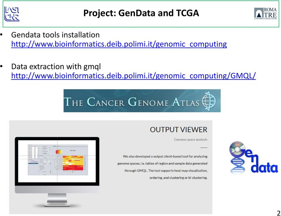 it/genomic_computing Data extraction with gmql