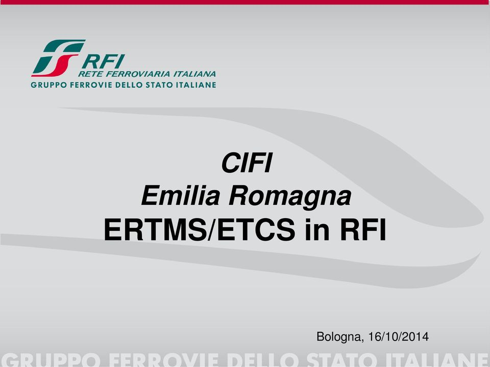 ERTMS/ETCS in