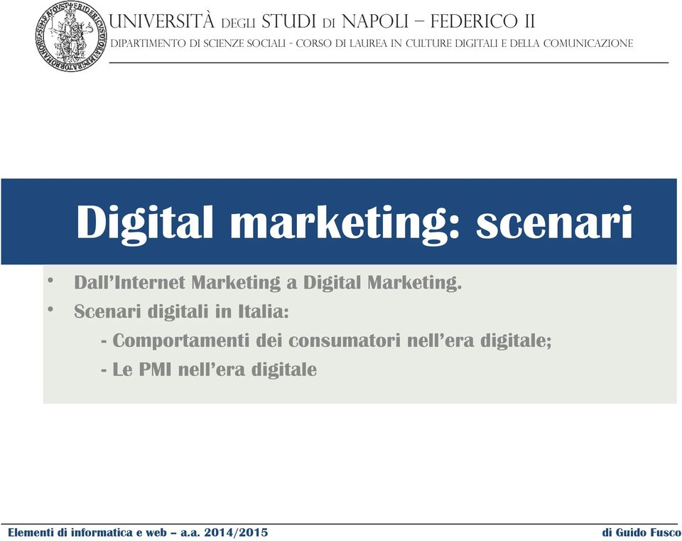 Marketing a Digital Marketing.