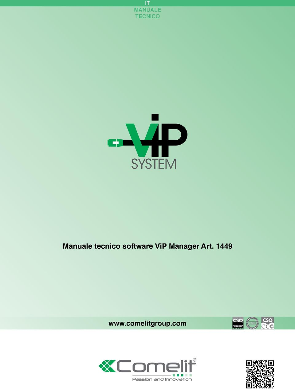 software ViP Manager
