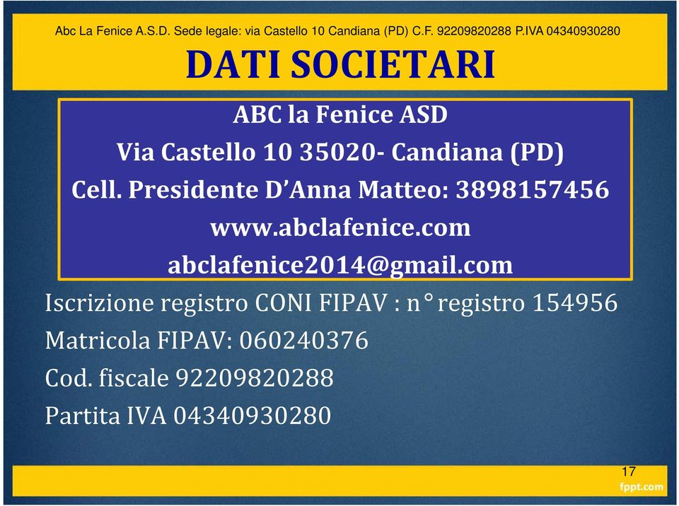 com abclafenice2014@gmail.