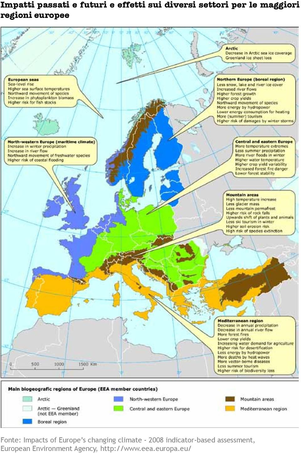 Europe s changing climate - 2008 indicator-based