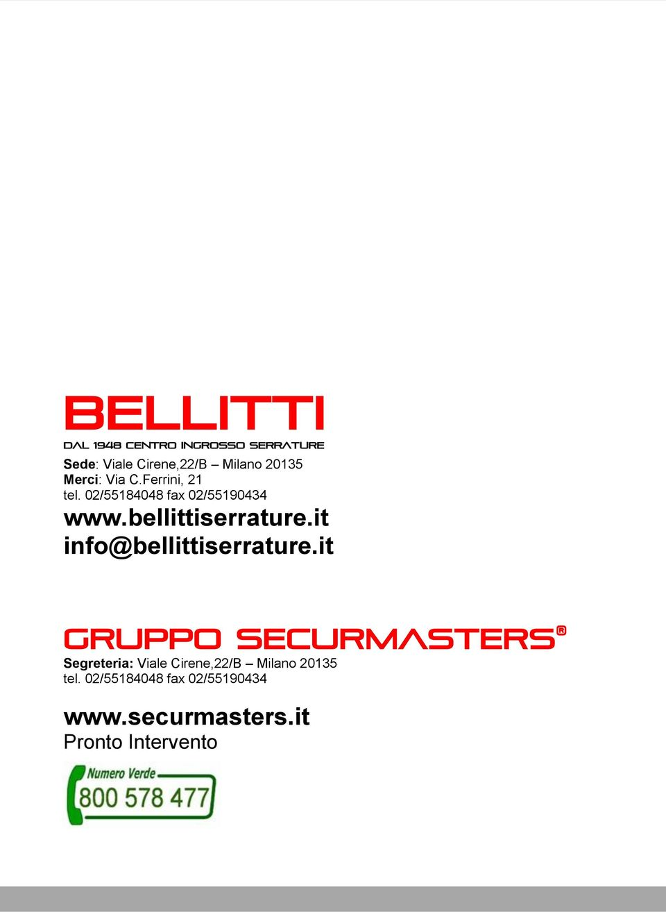 it info@bellittiserrature.