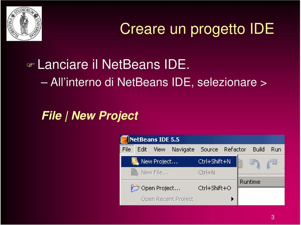 All interno di NetBeans