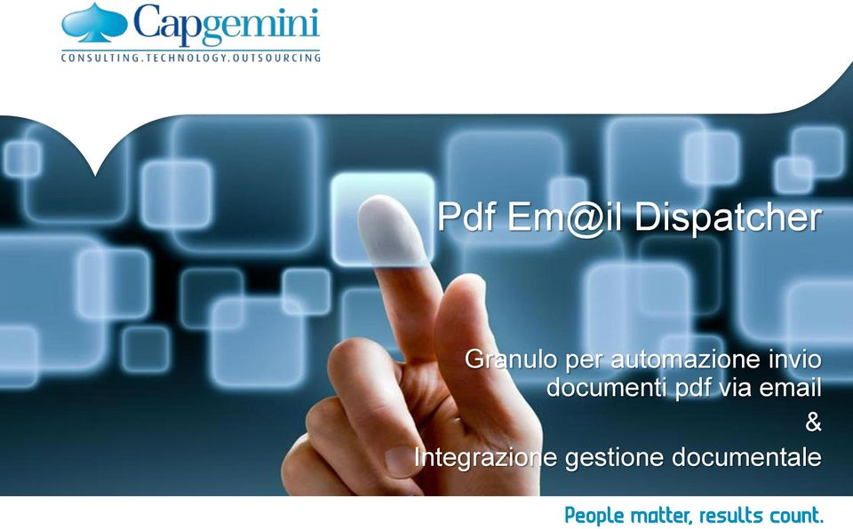 invio documenti pdf via