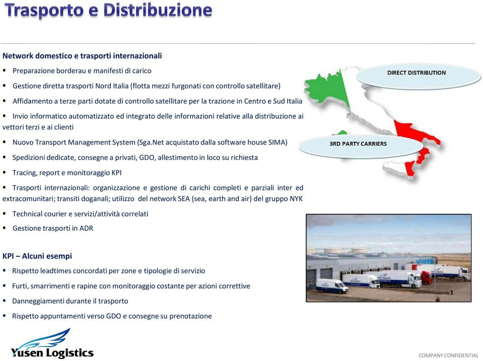 Nuovo Transport Management System (Sga.