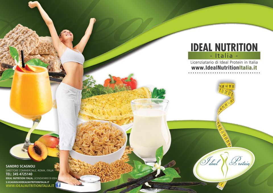 licenziatario di Ideal Protein in Italia s.