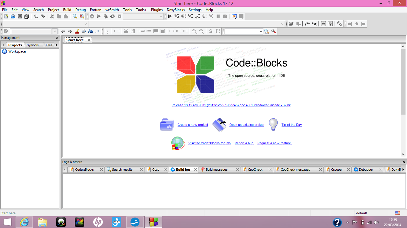Code::Blocks è un IDE (Integrate
