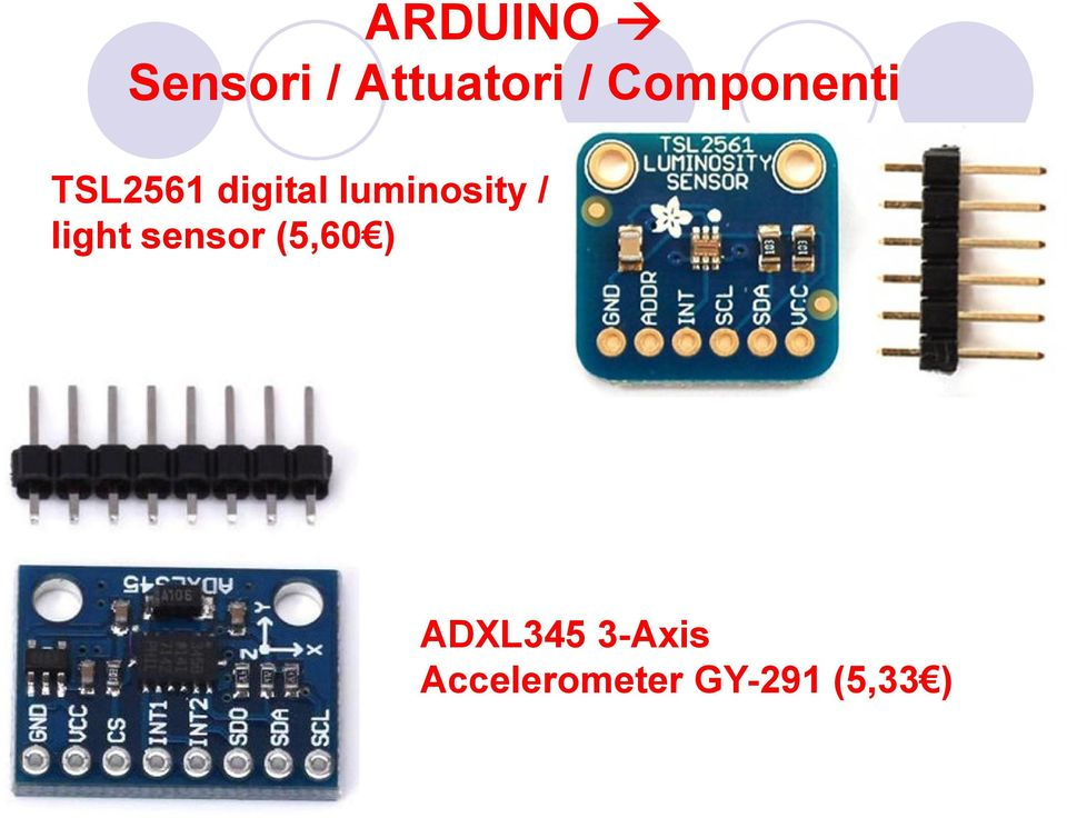 luminosity / light sensor (5,60 )