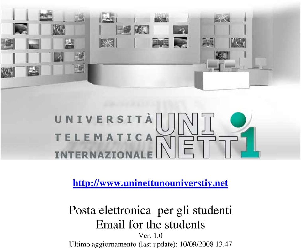 Email for the students Ver. 1.