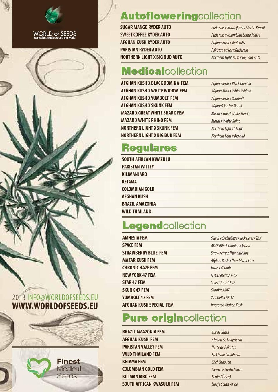 EU Autofloweringcollection SUGAR MANGO RYDER AUTO SWEET COFFEE RYDER AUTO AFGHAN KUSH RYDER AUTO PAKISTAN RYDER AUTO NORTHERN LIGHT X BIG BUD AUTO Medicalcollection AFGHAN KUSH X BLACK DOMINA FEM