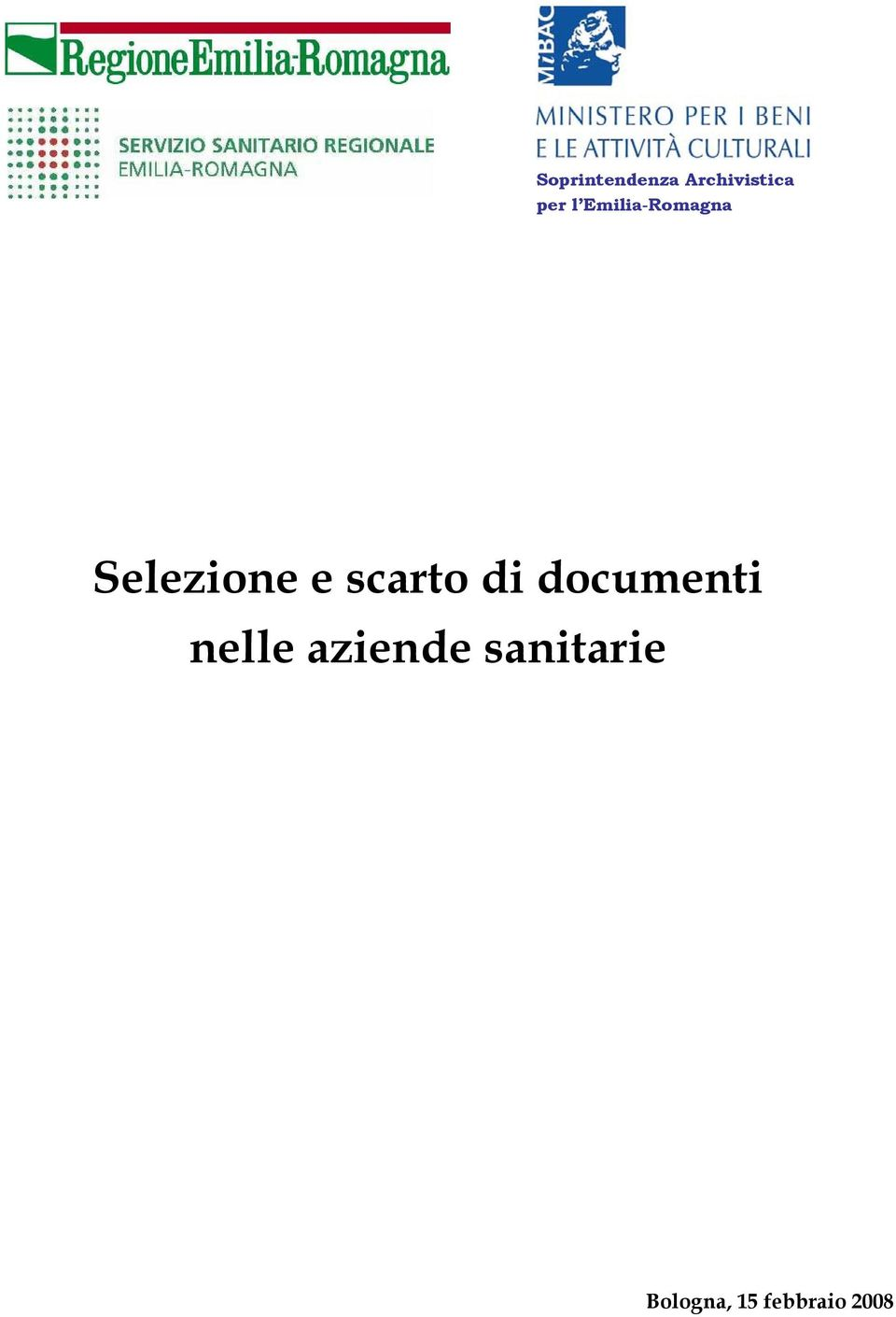 scarto di documenti nelle