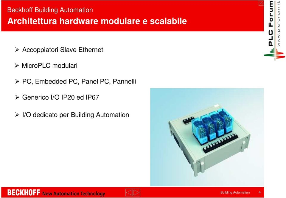 Embedded PC, Panel PC, Pannelli Generico I/O IP20 ed