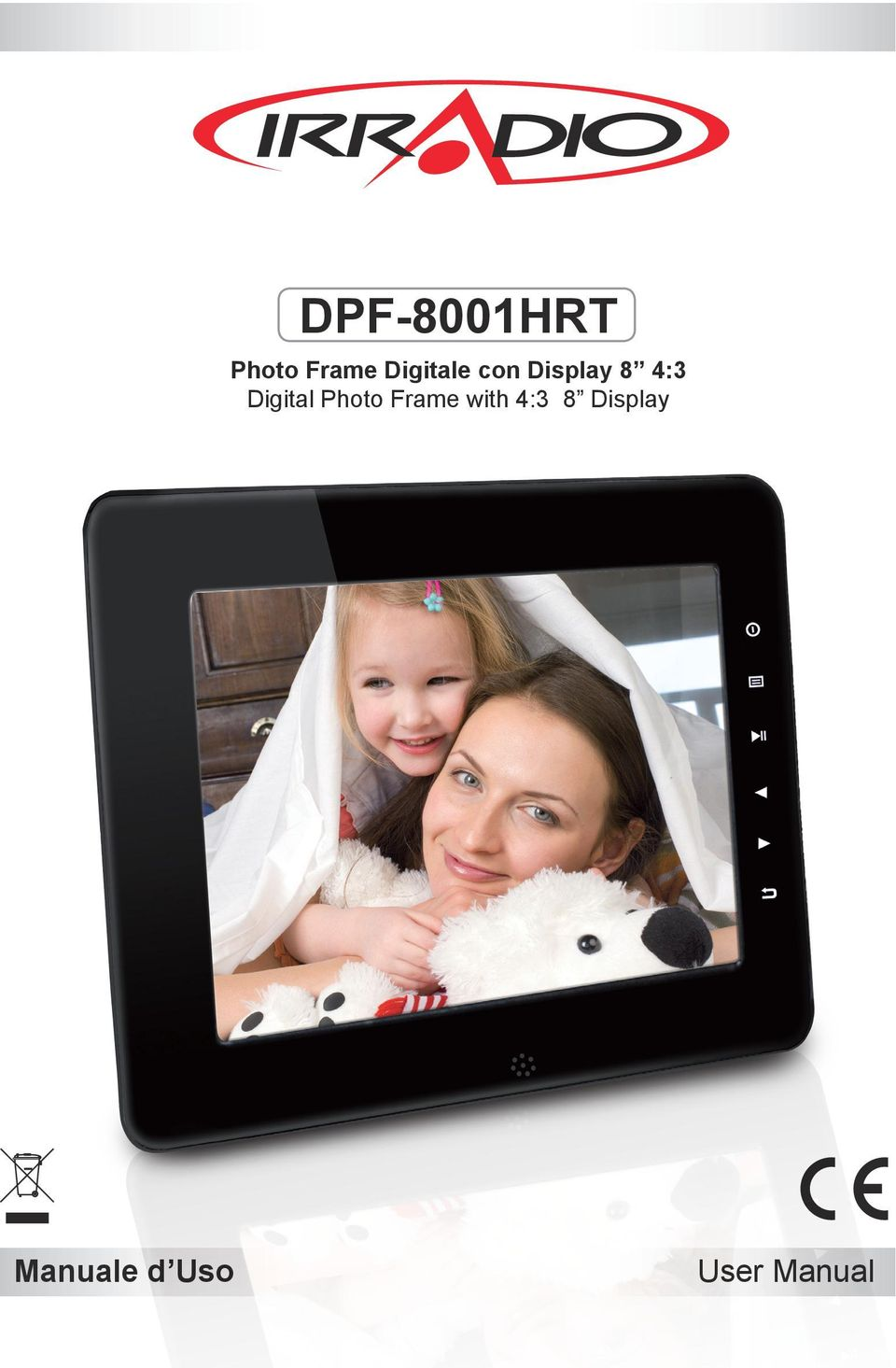 Digital Photo Frame with 4:3
