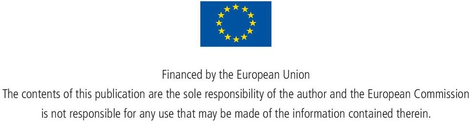and the European Commission is not responsible for any