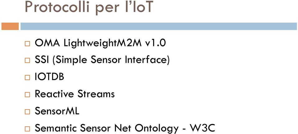 SSI (Simple Sensor Interface)! IOTDB!
