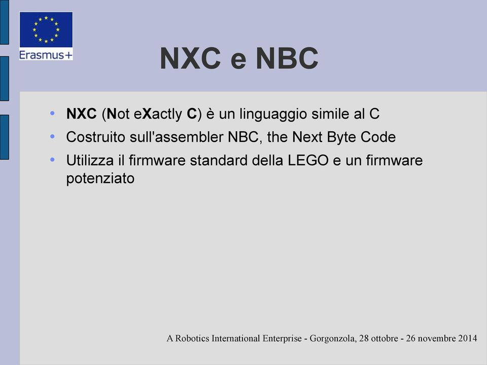 sull'assembler NBC, the Next Byte Code