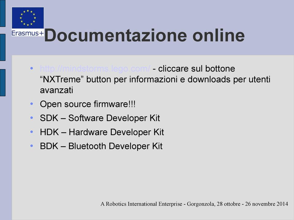 e downloads per utenti avanzati Open source firmware!